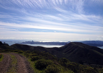 Ms. Kjellson and Mr. Daylor:  Hiking in the Marin Headlands, CA