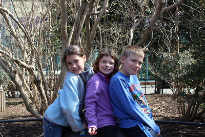The Martin kids in Washington, DC