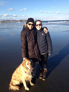 The Theobald family: Rye Beach, NH