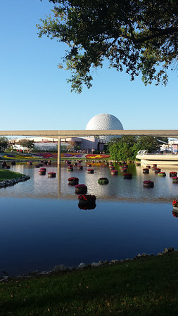 Mr. and Mrs. Doody: Epcot