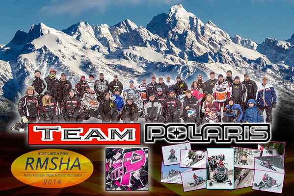 2014 Polaris Team Poster 20x30