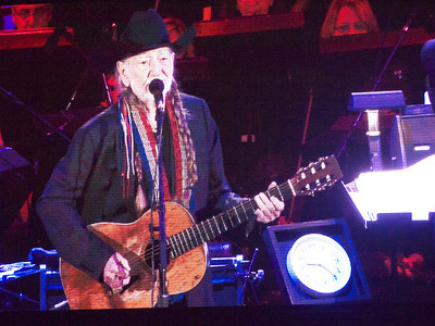 Willie Nelson + Lyle Lovett, Hollywood Bowl, Aug 2013
