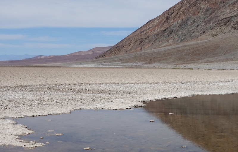 Looking across the Badwater Basin.