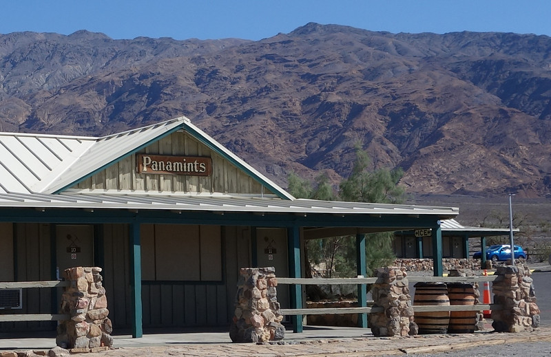 The village of Stovepipe Wells sits at just a few feet above sea level in Death Valley.  This location, along with Furnace Creek, were the only places I could buy gas.
