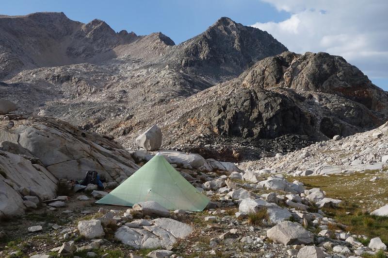 Camp at Helen Lake