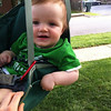 Baby Daniel, swinging