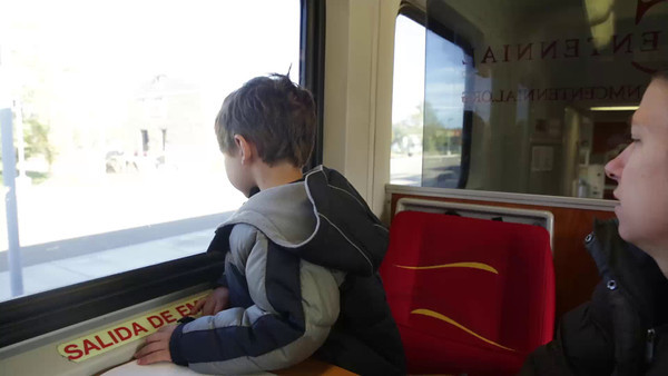 Train ride.  Are we there yet?