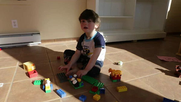 Building with duplos
