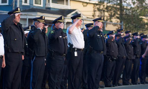 Vigil for Officer Sean Collier