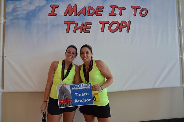 2013 Fight for Air Climb - Team Photos