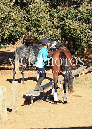 Showjumping Clinic Gidgegannup 23.3.2012