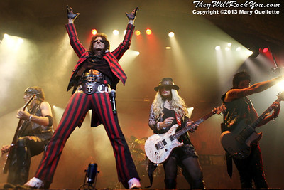 Alice Cooper brings the Monsters of Madness Tour to Mohegan Sun Arena in Uncasville, CT on June 21, 2013
