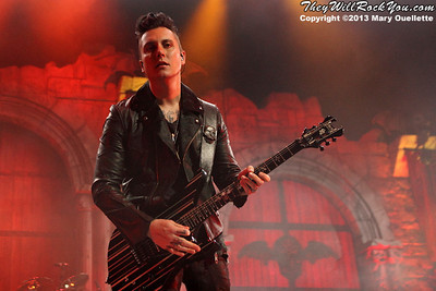 Avenged Sevenfold bring their 'Hail to the King' Headlining Tour to the TD Garden in Boston, Mass. on Oct. 9, 2013