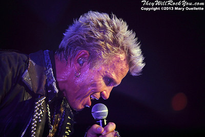 Billy Idol performs on June 2, 2013 at the Casino Ballroom in Hampton Beach, NH