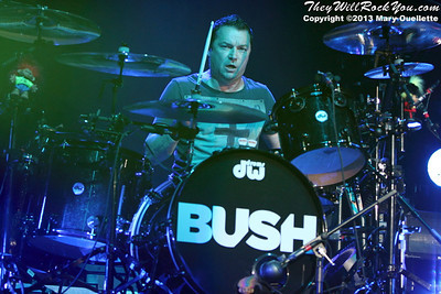 Bush perform at the Mass Mutual Center in Springfield, MA on May 1, 2013