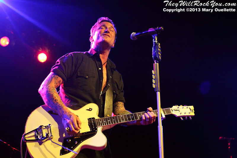 Butch Walker performs at the TLA in Philadelphia, PA on October 26, 2013