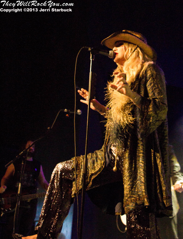 Courtney Love Performs in Austin