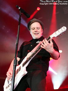 Fall Out Boy perform at the Tsongas Arena in Lowell, MA on September 6, 2013