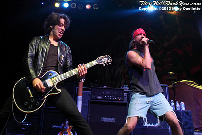Hillbilly Herald performs at the House of Blues in Boston, Mass. on July 8, 2013