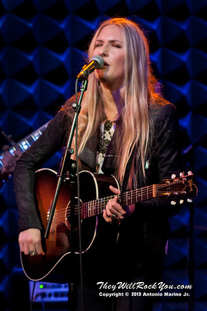 "Holly Williams performs on January 24, 2013 during her tour in support of ""The Highway"" at Joes Pub in New York, NY"