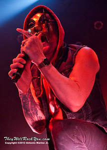 """Danny of Hollywood Undead performs on January 18, 2013 during their sold out """"The Underground Tour"""" at the Gramercy Theater in New York, NY"""