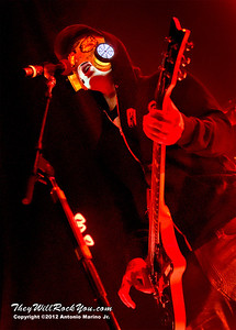 """J-Dog of Hollywood Undead performs on January 18, 2013 during their sold out """"The Underground Tour"""" at the Gramercy Theater in New York, NY"""