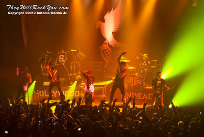 "Hollywood Undead performs on January 18, 2013 during their sold out ""The Underground Tour"" at the Gramercy Theater in New York, NY"