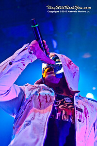 """Johnny 3 Tears of Hollywood Undead performs on January 18, 2013 during their sold out """"The Underground Tour"""" at the Gramercy Theater in New York, NY"""