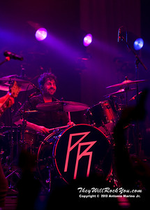 Tony Palermo of Papa Roach performs on January 23, 2013 at Terminal 5 in New York, NY
