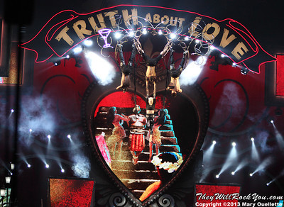 "Pink Brings Her 'Truth About Love"" Tour to the TD Garden in Boston, Mass. on December 5, 2013"