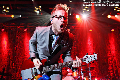Shinedown performs at the Mass Mutual Center in Springfield, MA on May 1, 2013