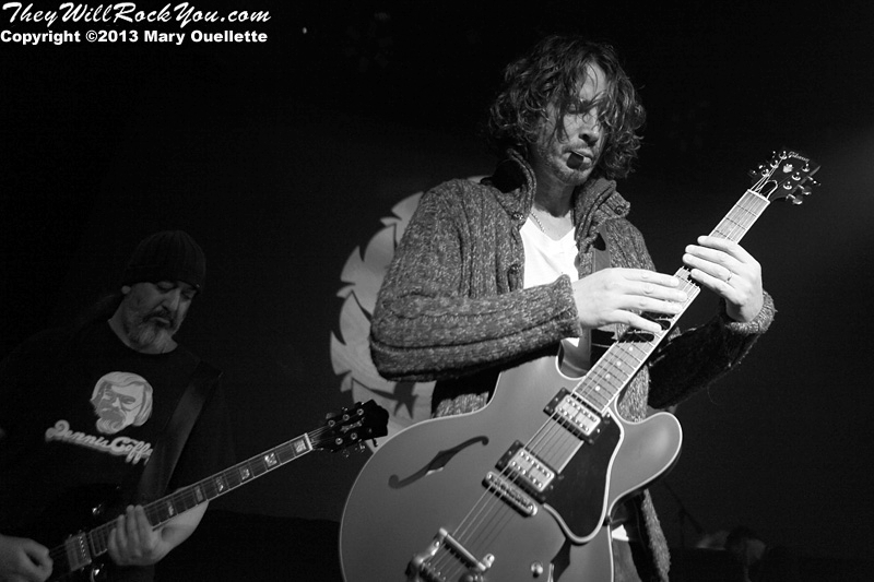 Soundgarden perform at The Palladium in Worcester, MA on May 15, 2013