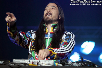 Steve Aoki headlines the Karmaloop Verge Campus Tour on April 21, 2013 at the Tsongas Center in Lowell, Massachusetts