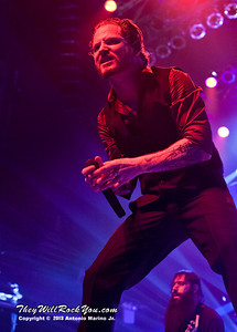 """Corey Taylor of Stone Sour performs on January 23, 2013 during their tour in support of """"House Of Gold & Bones Pt. 1"""" at Terminal 5 in New York, NY"""