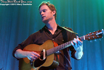 Wesley Schultz of The Lumineers performs on February 4, 2013 at the House of Blues in Boston, Massachusetts