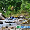 White Water Canoeing and Kayaking with Ace Adventure on the River Findhorn in the Highlands of Scotland near Inverness, Aviemore, Elgin, Nairn and Forres