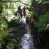 Canyoning with Ace Adventure on the River Findhorn in the Highlands of Scotland near Inverness, Aviemore, Elgin, Nairn and Forres