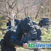 Woodland Paintball with Ace Adventure on the River Findhorn in the Highlands of Scotland near Inverness, Aviemore, Elgin, Nairn and Forres