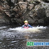 Tubing and Cliff Jumping with Ace Adventure on the River Garry in the centre of Scotland near Pitlochry and Perth