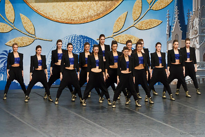 U of M Dance Team at ESPN-UDA College National Championship