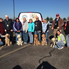 The first K-9 Comfort Dog team and volunteers arrived at Our Savior Lutheran Church in Washington, IL on Monday, November 18, 2013.