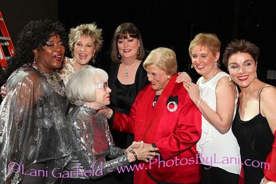 Photos by Lani Loretta Davine, Carol Channing, Pamela Meyers, Ann Hampton Callaway, Kaye Ballard, Liz Callaway, Christine Andreas