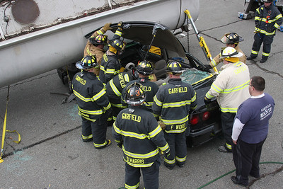 Garfield rescue engine  Co. 3 Extraction DRILL 3-3-13