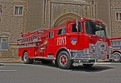 Newark Fire Department Historical Association 46th Anniversary & Annual Antique Fire Apparatus Parade and Muster 6-2-13