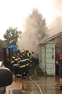 South Hackensack Structure Fire Phillips Ave. 8-22-13