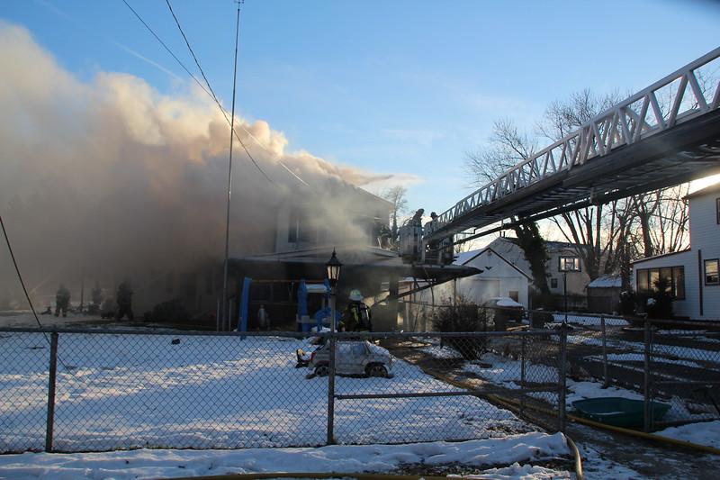 12-13-2013 (Camden Co) Gloucester Twp 256 Cedar Ave- 2nd Alarm