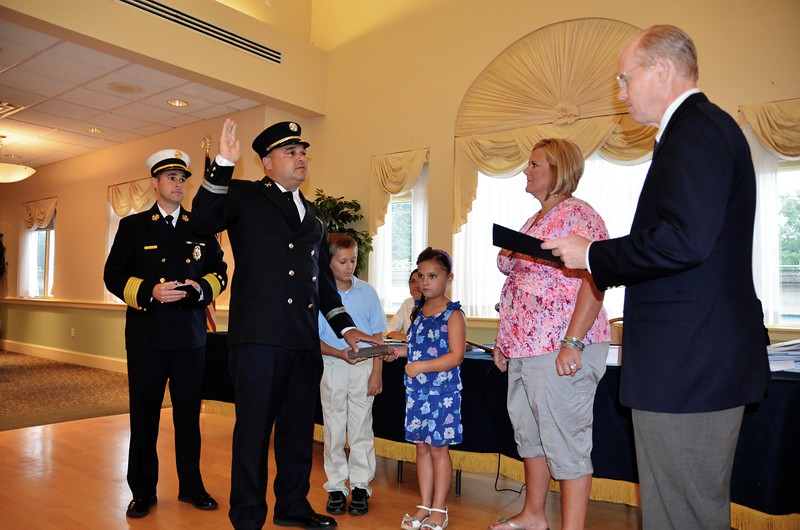 8-5-2013(Camden County)COLLINGSWOOD Capt. Fox Promotion