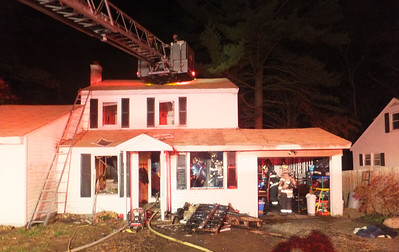 18 Ash Road - Working Fire: October 25, 2013
