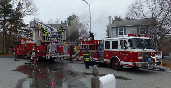 5 Marks Way, Franklin - Working Fire: November 26, 2013