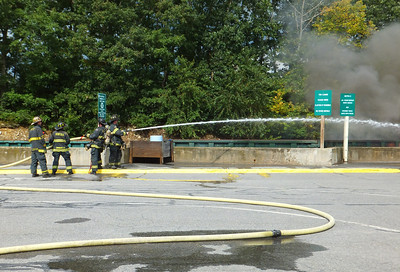 DPW Transfer Station - Container Fire: September 13, 2013